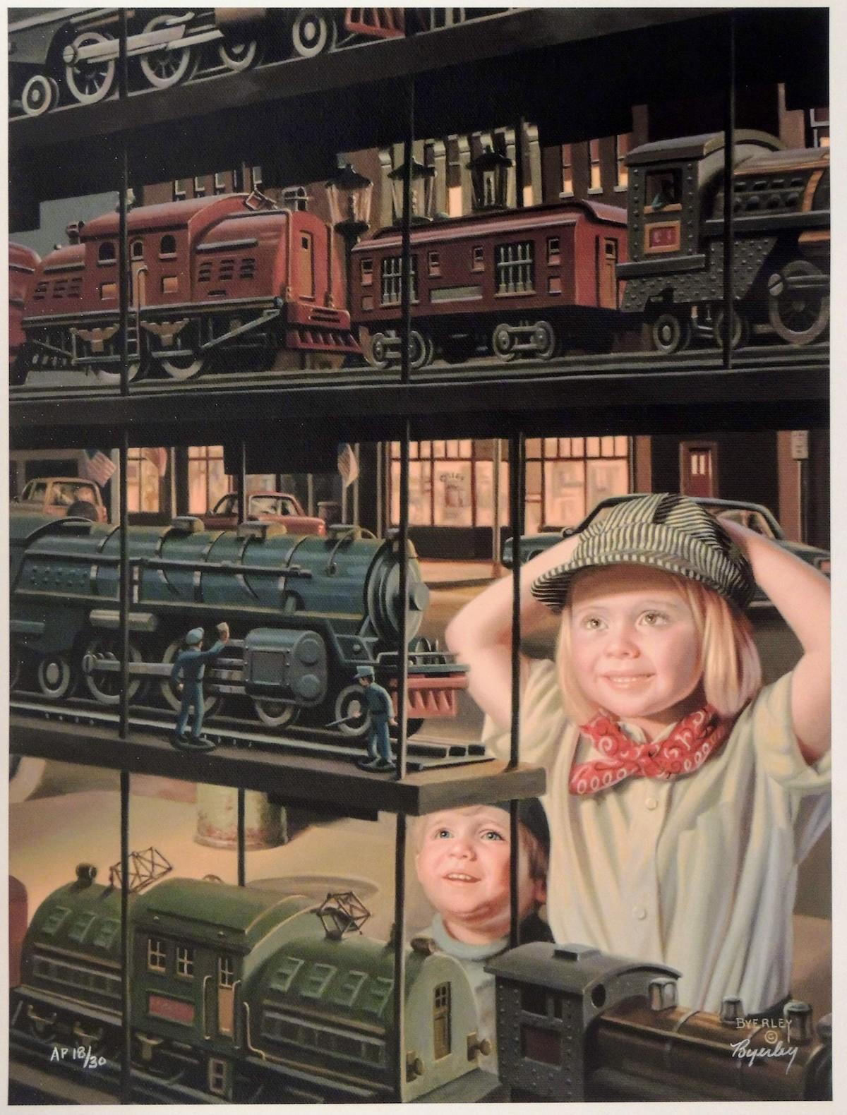 Train Shop Window