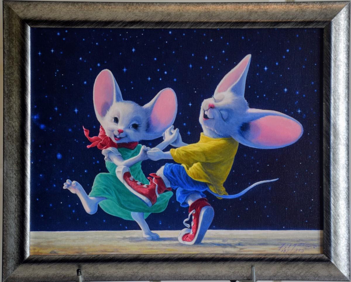 Star Dancers - Framed
